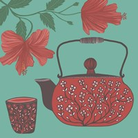 Hibiscus Tea Fine Art Print