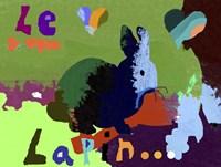 Le Lapin Fine Art Print