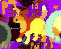 P Is For Puppy Fine Art Print