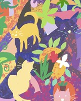 Cat Shapes Fine Art Print