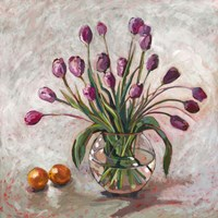 Joyful Tulips Fine Art Print