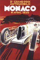 Monaco Grand Prix Fine Art Print