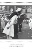 Kissing the War Goodbye Fine Art Print