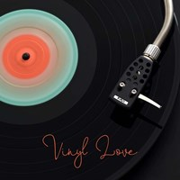 Spinning Record Vinyl Love Fine Art Print