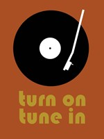 Tune on Turn In B Fine Art Print