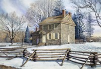 Winter At Valley Forge Fine Art Print