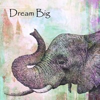 Elephant Dream Big Fine Art Print