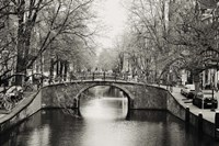 Amsterdam Canal Fine Art Print