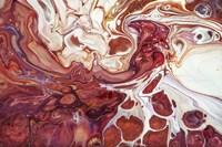 Fluid Acrylic Bringing Into Life 1 Fine Art Print