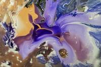 Fluid Acrylic Galactic Portal Fine Art Print