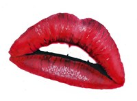 Lips II Fine Art Print