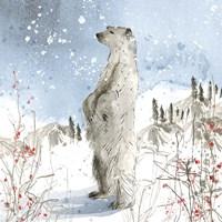 Standing Polar Bear Fine Art Print