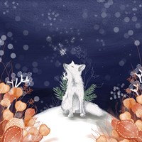 Snow Fox Fine Art Print