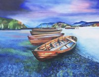 Boats of Colour Fine Art Print