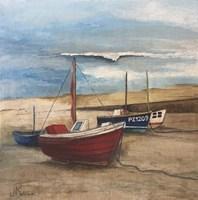 The Lizard Lifeboats Fine Art Print
