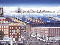 SouthStreet Seaport Fine Art Print