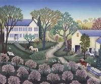 Spring Farm Fine Art Print