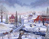 Snowy Afternoon Fine Art Print