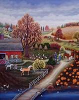 Autumn Farm Fine Art Print