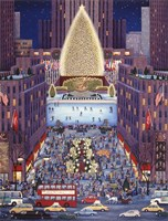 Rockefeller Center Fine Art Print