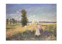 "Outing by Claude Monet - 28"" x 20"""