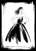 Black Lady Fine Art Print