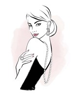 Diamond Lady Fine Art Print