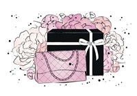 Handbag Peonies Fine Art Print