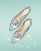 Mint Shoes Fine Art Print