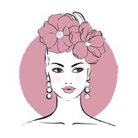 Pink Lady Fine Art Print