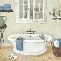 French Country Bathroom II Fine Art Print