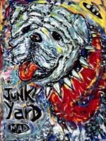 Junk Yard MAD Dog Fine Art Print