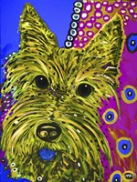 Scottie Yellow Fine Art Print
