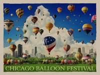 Chicago Baloon Fest Fine Art Print