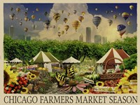 Chicago Farmers Market Fine Art Print