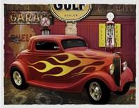 Route 66 Garage Fine Art Print