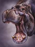Hippo Totem Fine Art Print