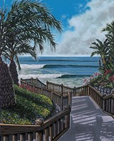 Boardwalk Fine Art Print