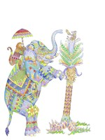 Mouse Pocket Elephant Fine Art Print