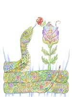 Mouse Pocket Snake Fine Art Print