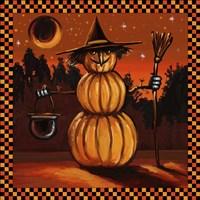 Pumpkin Witch Fine Art Print