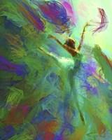 Torrent Of Color Fine Art Print