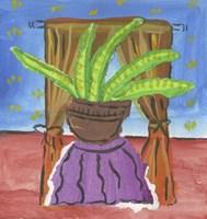 Potted Succulent Plant Fine Art Print
