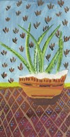 Succulent Southwest Pot Fine Art Print