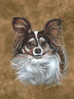 Gizzy Papillion Dog Fine Art Print