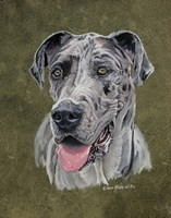 Jaeger Great Dane Fine Art Print