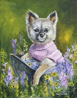 Poppy The Pomeranian Fine Art Print