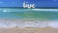 Live A Life Of Freedom Fine Art Print