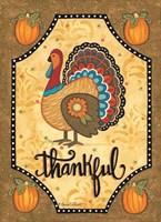 Thankful Turkey Fine Art Print
