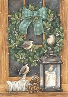Winter Wreath Fine Art Print
